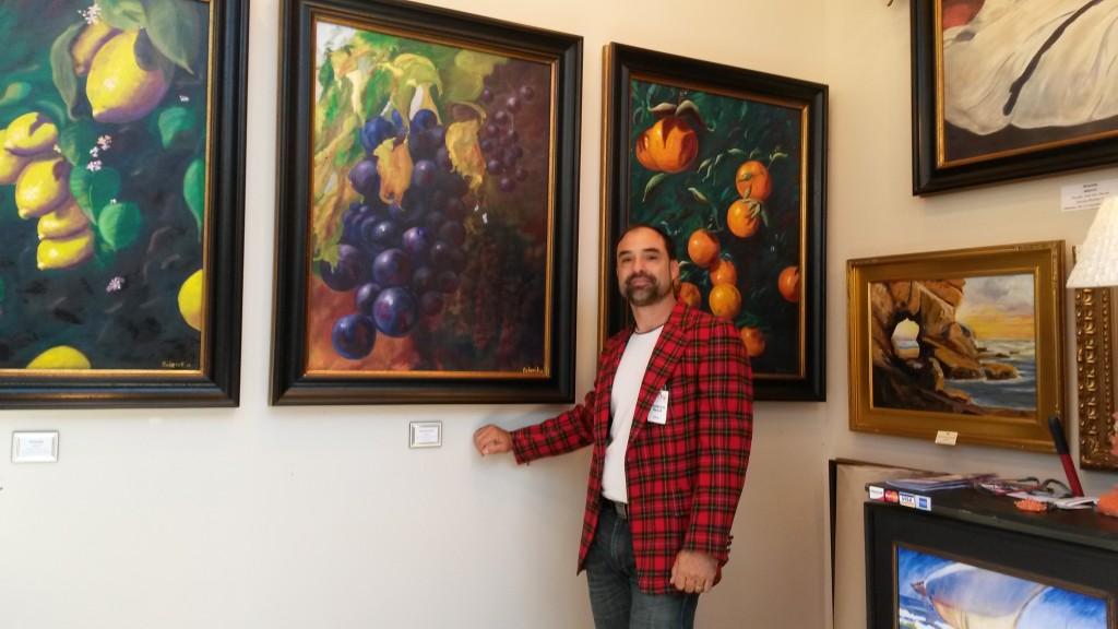 Roderick Reed fine art. Released Dec 2014. Grapes, Oranges ,Lemons