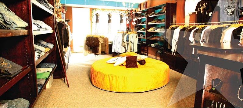 The Ashlee Blake flagship Retail space in Newport Beach, California