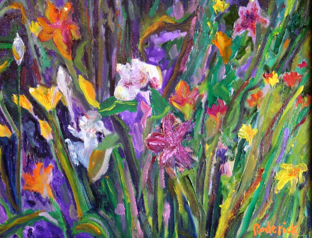 Fabulous Flora 11 x 14, Oil on Canvas $900.0