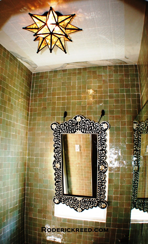 Bath Interior design, Moroccan Style by RoderickReed.com
