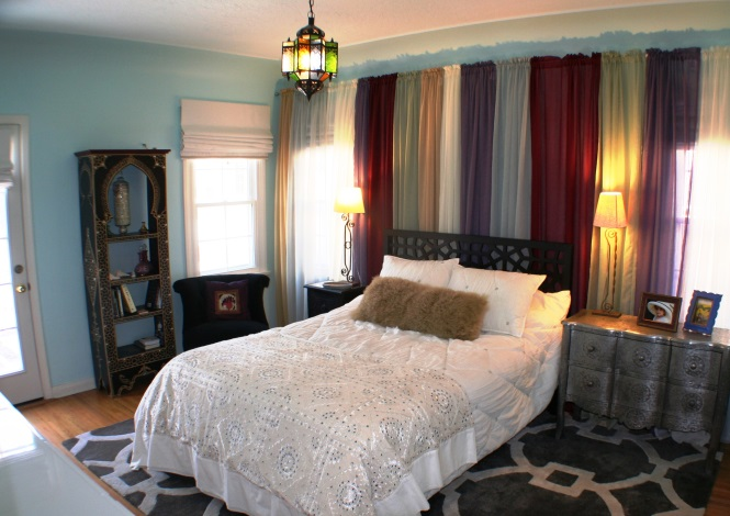 COMPLETE Interior Design of Master Bedroom by REEDesign Interiors.