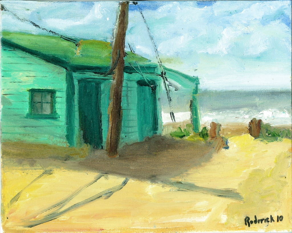 Crystal Cove -Oil on Canvas board, 8 x 10, $250.00