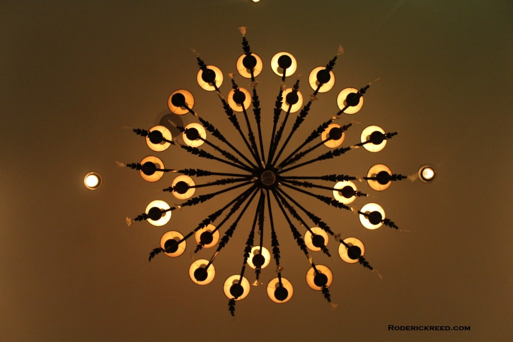 Foyer Chandelier. REEDesign Interiors