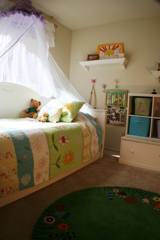 Small Projects by Roderick Reed. Girls Room. Furnishings and accessories by Pottery Barn Kids.