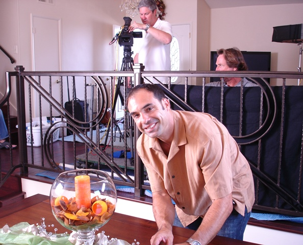 On set for TV Production