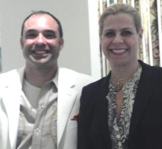 Roderick Reed and Celebrity Designer Alexa Hampton