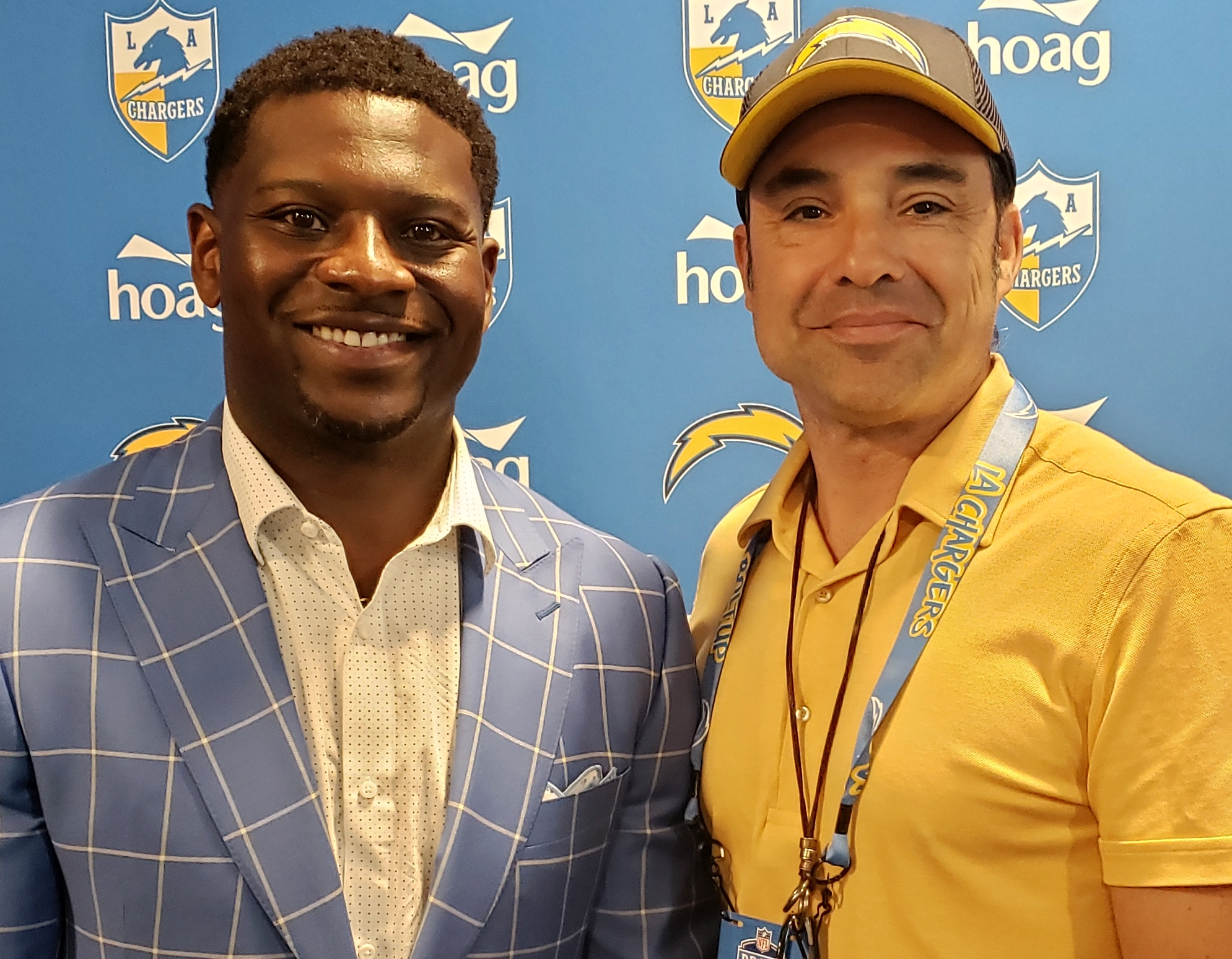 Roderick Reed and LaDainian Tomlinson.